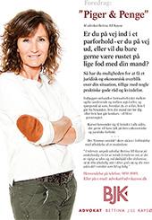 Piger og penge - foredrag af Advokat Bettina Jill Kaysø